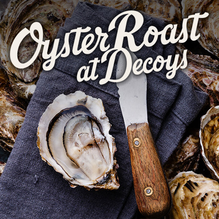 The Annual Oyster Roast at Decoys